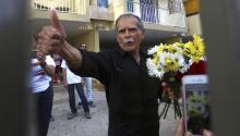 El último presopolíticopuertorriqueñoÓscar LópezRivera en libertad tras más de 35 años en prisión por conspiración sediciosa. EFE