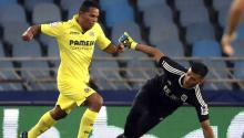 """I enjoyed my time in Milan, but the team has many forwards now"", said Bacca when he was introduced to Villarreal fans at Estadio La Cerámica. ""I am coming here to improve my stats, because we are in a World Cup year and in Italy I did not see clear chances of enjoying playing time"".  EFE"