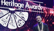 El cantante puertorriqueñoLuisFonsisube al escenario para recibir el Premio Especial Trailblazerpor su compromiso y contribución a la comunidad latina, otorgado por La Fundación Herencia Hispana, durante la ceremonia número 30 de los Premios Anuales de la Herencia Hispana 2017 hoy, jueves 14 de septiembre de 2017, en el Teatro Warner de la ciudad de Washington (EE.UU.). EFE/Lennin Nolly