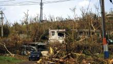 Puerto Rico's landscape in the aftermath of Hurricane Maria. EFE