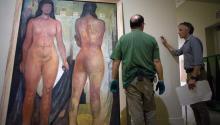 la exposición Maestros Modernos de América Latina reúne 101 obras de artistas como Rivera, Kalho, Lam y Botero con el fin de destacar el valor del diálogo entre culturas y acercar a los inmigrantes a sus raíces. EFE
