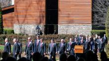 Billy Graham's funeral took place in Charlotte, N.C., on March 2nd.