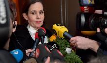 La secretaria permanente de la Academia Sueca, Sara Danius, anunció el jueves su dimisión a raíz del escándalo porsupuestos abusos sexuales y una sucesión de filtracionesque afecta a la institución de los Nobel. EFE/ Jonas Ekstromer.