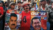 The sympathizers ofthe ruling party commemorated the 27th anniversary of Hugo Chavez's failed coup d'état with ever-smaller but equally convinced ranks to defend his legacy. EFE