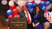 Reading mayoral candidate Eddie Moran declared victory in the primary on May 21. Photo: 6ABC