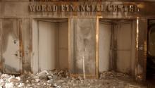 """World Financial Center Sept. 14, 2001"" CC-PD-Mark via Wikimedia Commons."