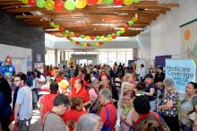 """Hundreds of women participated in the American Heart Association's """"Latina Luncheon"""" at Taller Puertorriqueño Photo: Peter Fitzpatrick/ AL DIA News"""