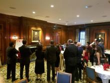 ALDIANews held a reception at the famous Yale Club in New York City. Peter Fitzpatrick/ALDIANews