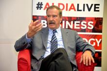Former President of Mexico, Vicente Fox, participated in an exclusive interview with AL DÍA News.