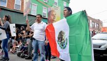 Marcha en la Ciudad de México contra el gasolinazo, aumento del 20% en precios de gasolina. Ciudadanía exigiendo renuncia del presidente. 9 Enero 2017. Foto: Wikimedia