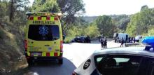 The Mossos d'Esquadra report having killed a terrorist in Subirats with what appeared to be a belt of explosives tied to the body. Source: Mossos d'Esquadra