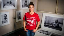 Artist Ada Luisa Trillo's latest exhibit of photographs, How Did I Get Here?, in the brothels of Juarez, Mexico, examines how women become entangled in sex work and what can be done to get them where they want to be. Photo: Andrés Albaladejo / Broad Street Photo.