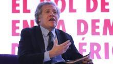 El secretario general de la Organización de Estados Americanos (OEA), LuisAlmagro,EFE/José Méndez
