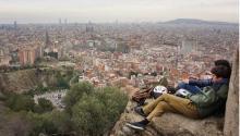 Vista panorámica de Barcelona. Foto Edwin López Moya / AL DIA News