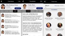 NutShell Politics es una aplicación gratuita disponible para usuarios de iPhone.