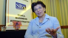 Jovita Carranza during her tenure as deputy administrator of the federal government's Small Business Administration (SBA) in 2007. EFE / Iván Mejía