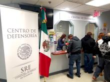 Centro de Defensoria Mexican Consulate.