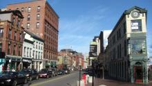 Congress Street, Portland. Photo: Wikimedia