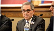 Larry Krasner es uno de los sieteprecandidatos demócratasa la Fiscalía Distrital de Filadelfia. Foto: Peter Fitzpatrick/AL DÍA News.