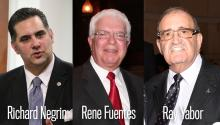 Photos from left to right: Richard Negrin, Rene Fuentes, Ray Yabor