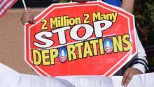 El mexicano Francisco Javier González, casado con una estadounidense con la que tiene tres hijas y respetado por la comunidad en Palm Beach (Florida) por su trabajo duro y su amabilidad, teme por primera vez en años su deportación. EFE/Archivo
