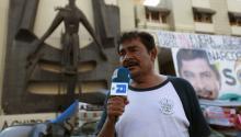 Felipe de Jesús de la Cruz, the spokesman for the families. EFE