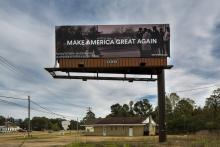 Billboard on Highway 80 outside Pearl, Mississippi. Photo: ForFreedoms