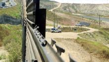 Patrullas fronterizasen la zona de Tijuana, México.Foto Eduardo Jaramillo