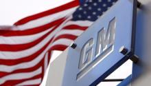 Fotografía de archivo de 19 de noviembre de 2008 que muestra el logo deGeneralMotorsWorld en la fachada exterior de su sede central en Detroit (EE.UU.).EFE/JEFF KOWALSKY/ARCHIVO
