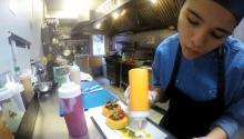 Merliz Gomez is the chef of the Venezuelan restaurant Tartarepería 18.64, located in Fishtown. Photos: Eli Siegel.