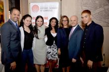 The Greater Philadelphia Hispanic Chamber of Commerce held their networking mixer in downtown Philadelphia Tuesday evening.  Photo: Peter Fitzpatrick/AL DIA News