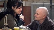 """Hayley Squires y Dave Johns en la película """"I, Daniel Blake"""". Una nueva muestra de """"realismo social"""" del director Ken Loach.Foto: Joss Barratt/ Sundance Selects"""