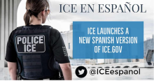 El nuevo portal del ICE asegura ser la única fuente fidedigna de la misión que lleva a cabo.