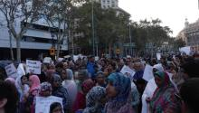 The Muslim community of Catalunya expressed on Monday its repulsion towards the terrorist attacks last Thursday. Photo: Andrea Rodés