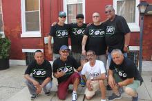 Miembros originales de la 20G (Izq. a der.): T-Bone, Hip, Sunshine, Rico. Imagen inferior (izq. a der.) : Gaucho, Crip, Nate y Bert.