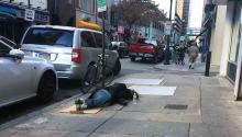 Hundreds of people live in begging in Philadelphia. Donafy is a mobile application that helps direct donations to better serve these people.Yesid Vargas/AL DÍA News.