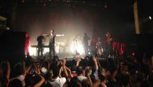 El cantante colombiano presentó el pasado 21 de junio con un lleno total en 'Trocadero'. Durante más de tres horas fanáticos, en su mayoría colombianos, vibraron con sus éxitos. Arturo Varela/AL DÍA News