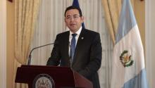 Jimmy Morales, president of Guatemala. Photo: Wikimedia Commons