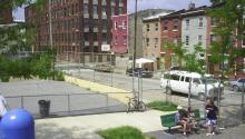 Playground in Philadelphia neighborhood of Kensington. Photo: Wikimedia