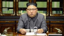 "Kim Jong-un warned US President Donald Trump that he will pay dearly for his ""eccentric"" speech. before the UN, in which he threatened to completely destroy North Korea. EFE / Kcna"