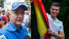 The intelligence police of the Nicolás Maduro regime have forcibly removed Antonio Ledezma and Leopoldo López from their homes. Source: Antena 3.