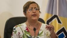 Tibisay Lucena, presidenta del Consejo Nacional Electoral (CNE) de Venezuela. EFE.