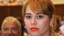 """Fotografía de archivo fechada el 20 de enero de 2016, de la exdiputada estatal de SinaloaLuceroGuadalupeSánchezLópez. La exdiputada, quien fuera vinculada con Joaquín """"el Chapo"""" Guzmán, fue detenida ayer, miércoles 21 de junio de 2017, por autoridades migratorias de Estados Unidos cuando pretendía ingresar a San Diego (California).EFE/STR"""