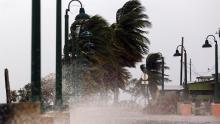 Vientos de hasta250 kilómetros por hora han azotado la isla de Puerto Rico este miércoles 20 de septiembre. Fuente:http://www.lanacion.com.ar/