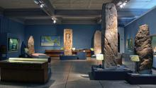 Gallery of archaeological pieces of Mayan culture exhibited at the Museum of Archeology and Anthropology of the University of Pennsylvania. Photo: Supplied UPEnn