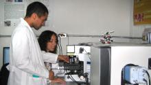 Foto de archivode científicos mexicanos durante sus investigaciones en Jalisco.EFE/José González