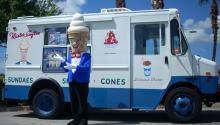 Un camión de Mister Softee en Florida. Foto: Wikimedia