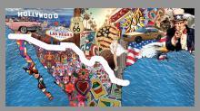 """Proyecto presentado por el estudio de la arquitecta venezolana Victoria Benatar, radicada en Nueva York, quien propone un """"anti-muro"""" para la frontera entre EE.UU. y México, con la creación de un espacio binacional.EFE/Estudio Victoria Benatar"""