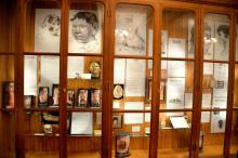 A display on the human skin and how ailments effect it are one of the many oddities you will see at the Mutter Museum. Photo: Peter Fitzpatrick/AL DIA News