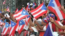 The National Puerto Rican Day Parade celebrates America's Puerto Rican culture in New York City on the second Sunday in June.